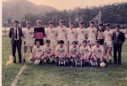 FK Divic Mladost 1985_86